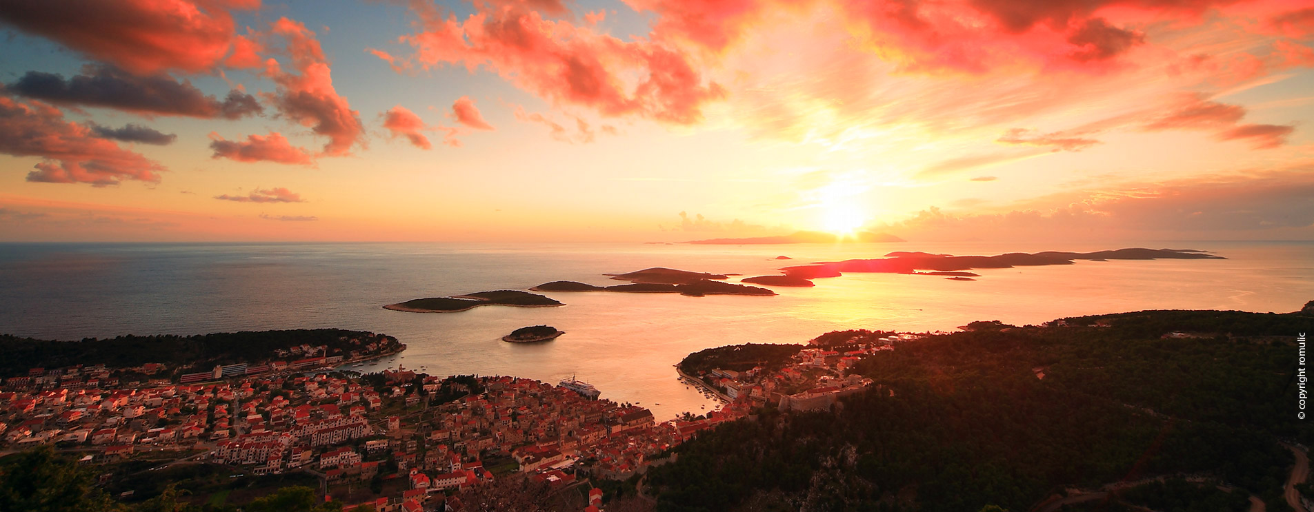Hvar town and Pakleni Islands